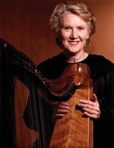 Linda Larkin, Harpist
