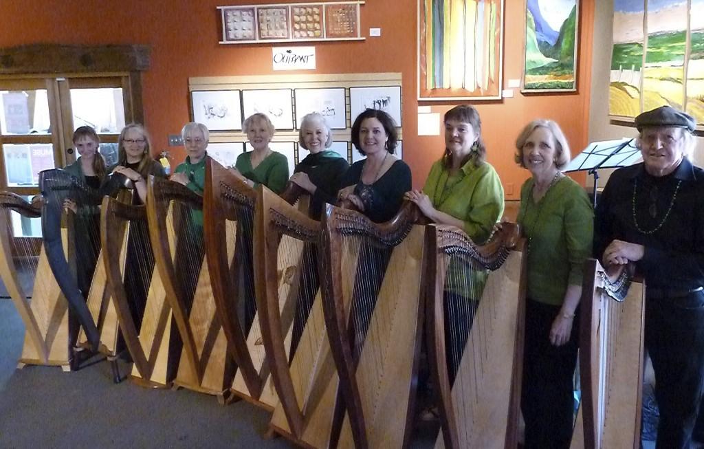 High Desert Harps St Pats 2012